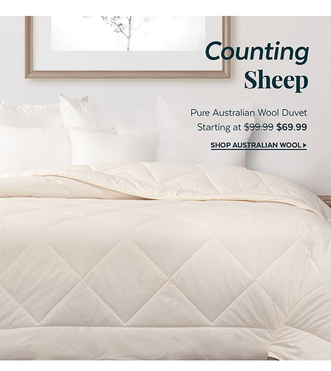 Pure Australian Wool Duvet