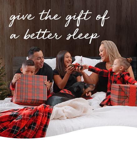 give the gift of a better sleep banner
