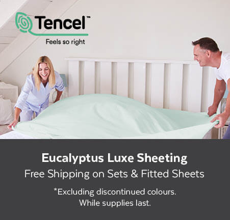 Free Shipping on All Luxury Sheeting