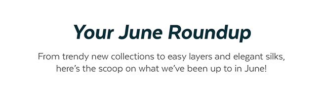 Your June Roundup