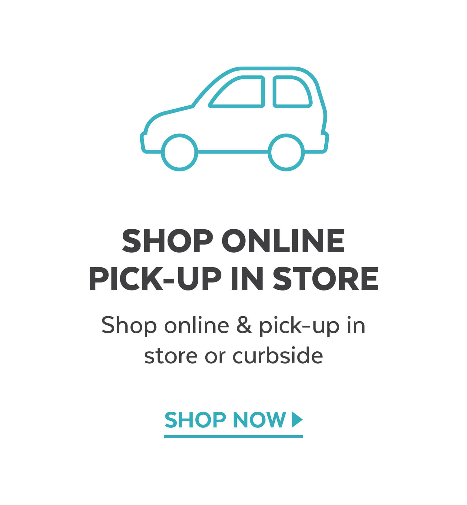 Shop online and pick-up