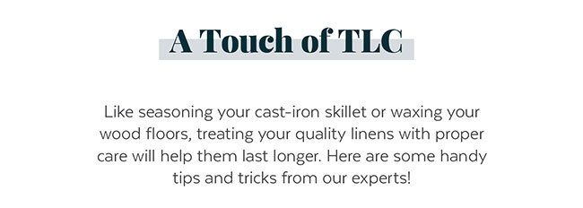 A Touch of TLC