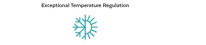 Exceptional temperature regulation