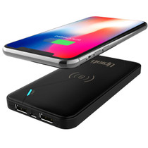 UPTab Wireless Charger Power Qi Bank - with cell phone