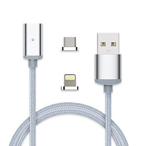 UPTab USB Magnetic Charging and Data Cable to Lightning and Micro USB