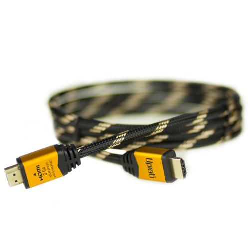 Cavo intrecciato HDMI ad alta velocità 4K UPTab - HDR 4K 120Hz 18 Gbps ARC (6FT)