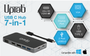 USB-C Hub 7-in-1 Ultra HD 4K