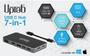 Hub USB-C Ultra HD 4K 7 en 1