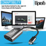UPTab USB-C (Type C) to Mini DisplayPort Adapter 4K@60Hz - Graphite - Power Delivery Port