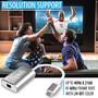 UPTab Adaptador USB-C (Tipo C) a Mini DisplayPort 4K @ 60Hz - Plateado - Soporte de productos Apple