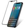 UPTab iPhone X skærmbeskytter Hærdet glasskærm - Med iPhone foran