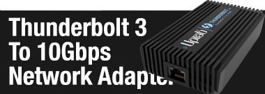 UPTab Adaptador de red Thunderbolt 3 a 10Gbps