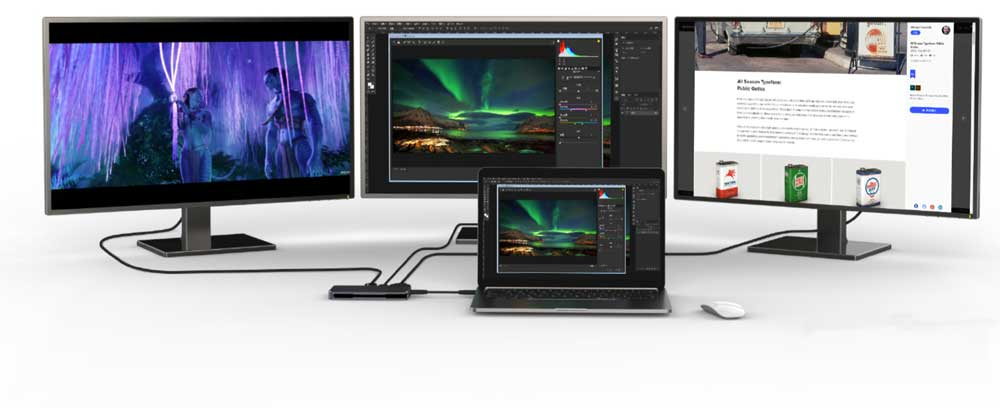 UPTab USB-C 7-in-1 Hub Windows MST support