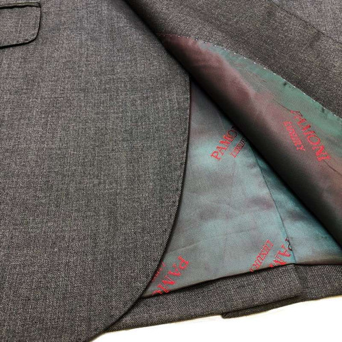 Grey 1-button Regular Fit Suit Men's Suit