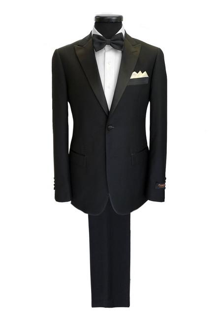 Black 2-button Dinner Suit