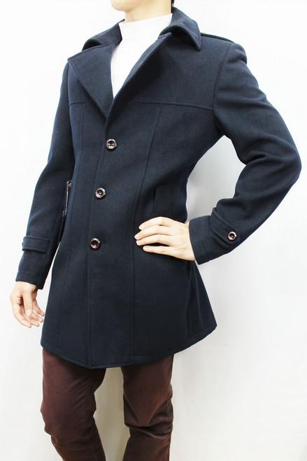 Navy Over Coat