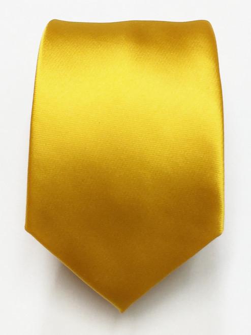 Plain Marigold Tie