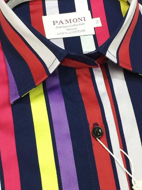 Multi Colour Stripe Shirt
