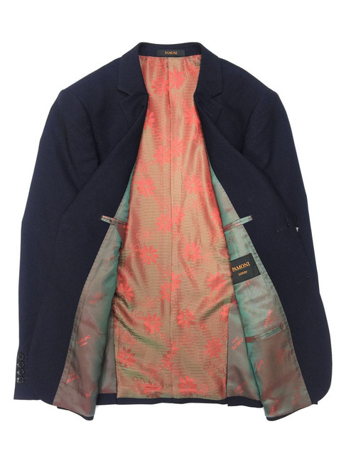 Violet Birdseye 2-button Slim Fit Suit