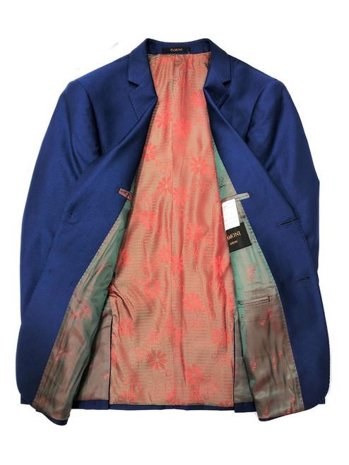 Royal Blue 2-button 3-piece Suit