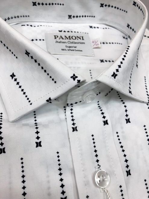 Falling Stars Pure Cotton Shirt - Pamoni