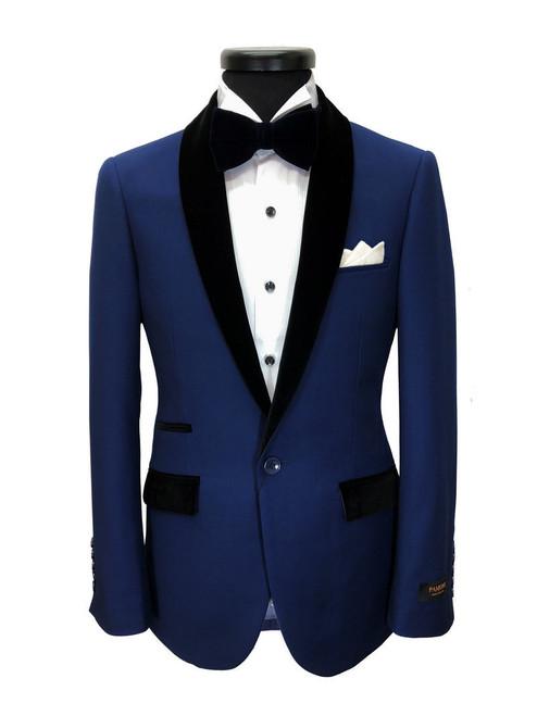 Royal Blue Dinner Suit