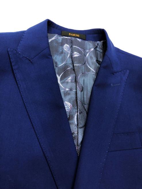 Cobalt Blue 1-button Slim Fit Suit