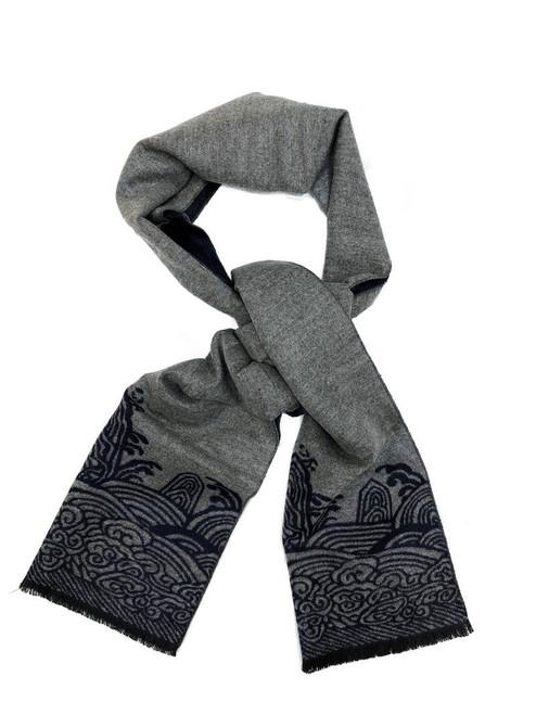 Traditional Oriental Pattern Scarf - Pamoni
