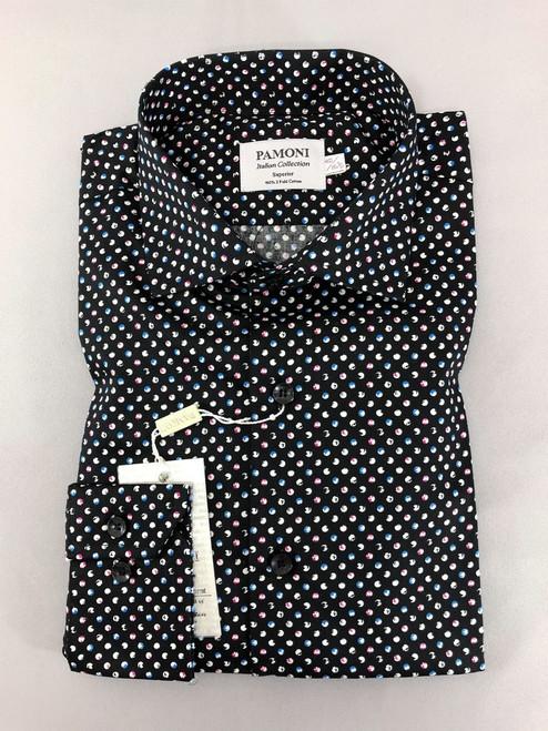 Men's Polka Dot Pure Cotton Shirt