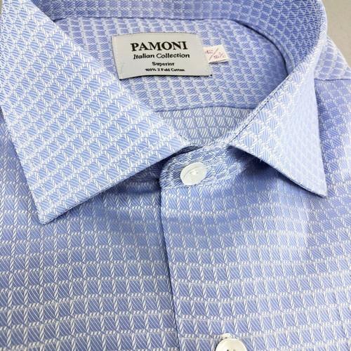 Sky Blue Check Shirt