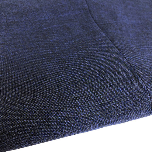 Slim Fit Blue Trousers Close Up