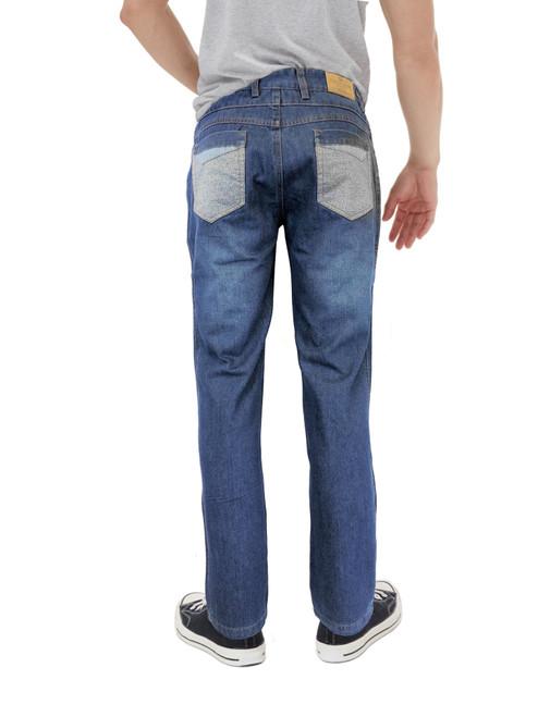 Regular fit jeans back view
