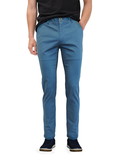 Blue Slim Fit Chino