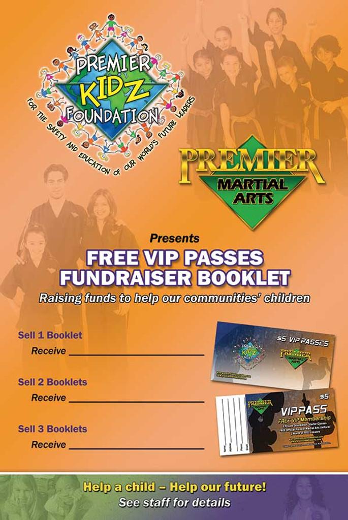 Premier Kidz Foundation Fundraiser Poster