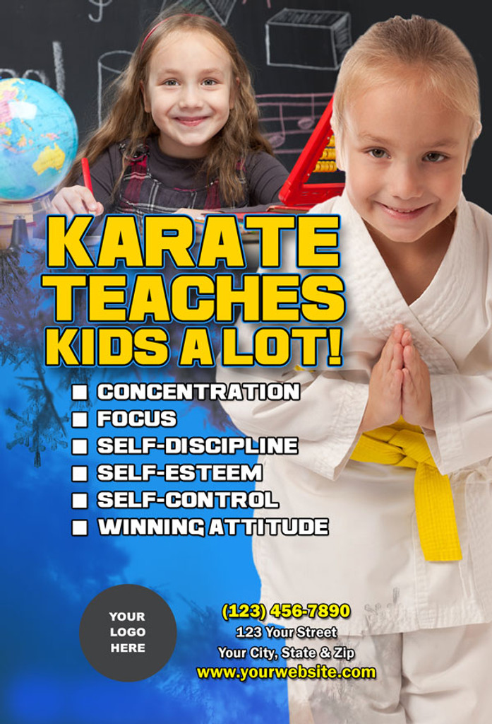 Karate Teaches Kids V4