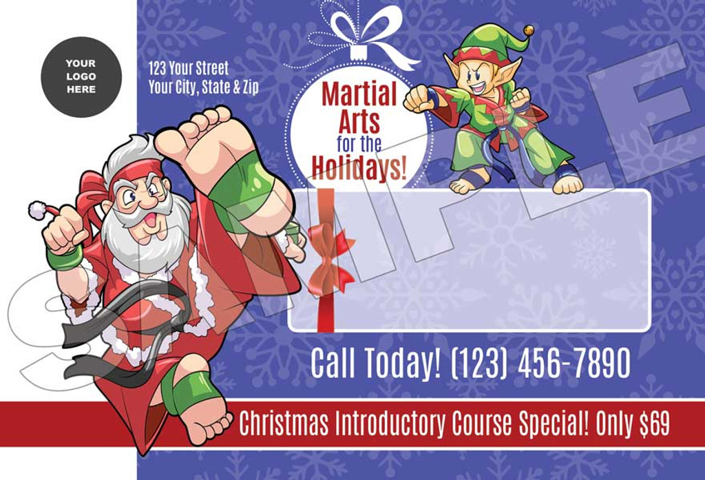 **NEW* Santa & Elf Martial Arts for the Holidays