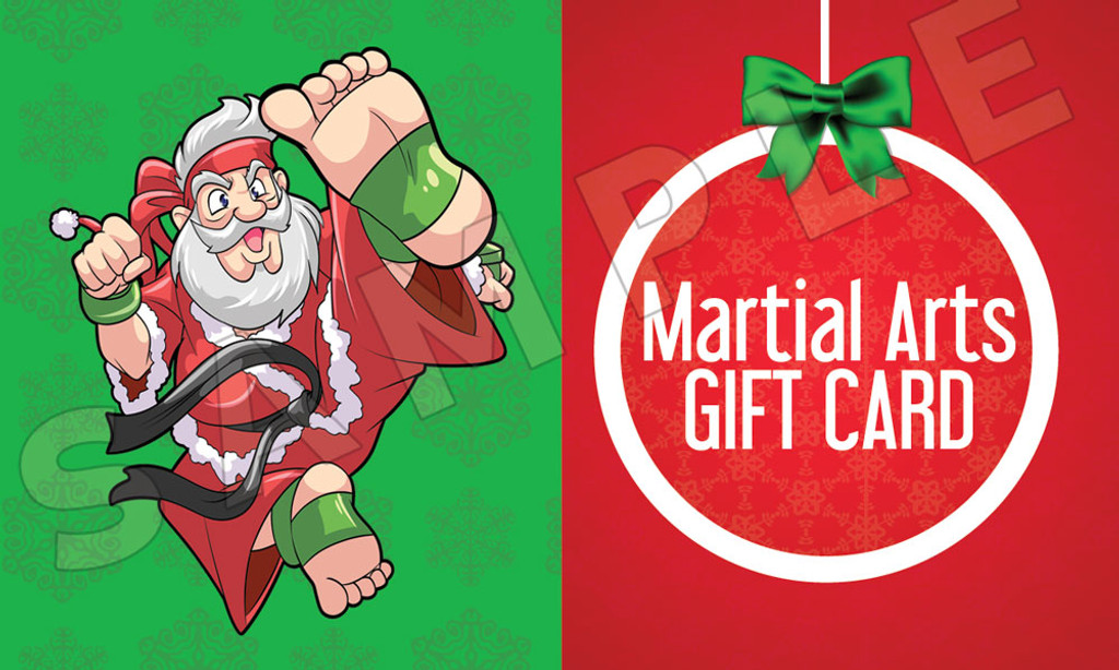 Santa's Martial Arts Holiday Gift Certificate ...
