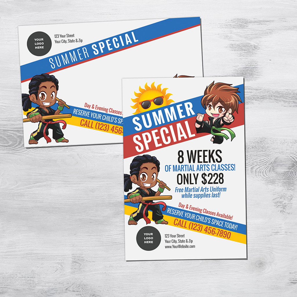 *NEW!! Martial Arts Summer Special V1