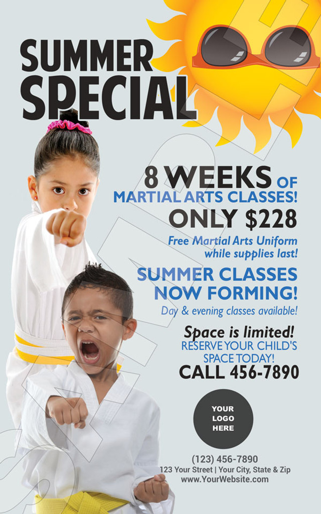 *NEW!! Martial Arts Summer Special V3
