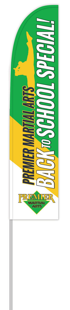 *NEW* PMA Back to School Feather Flag V4