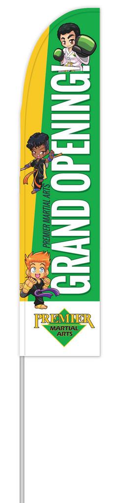 *NEW* PMA Grand Opening Feather Flag V1