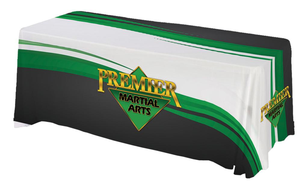 *NEW* PMA Table Throw - Black Green White