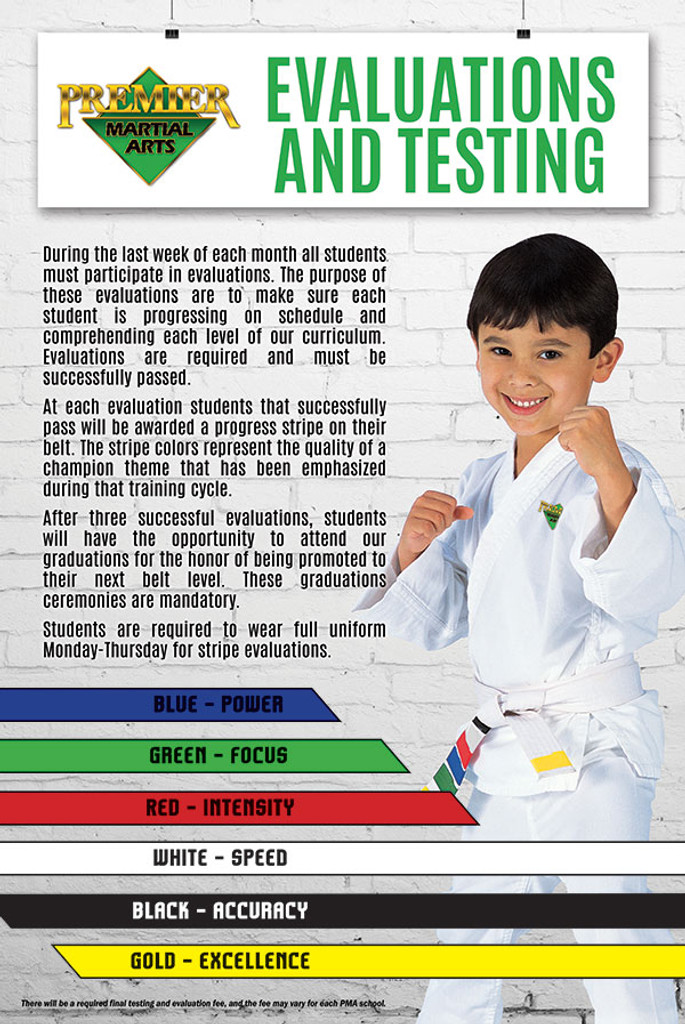 Evaluations & Testing Poster