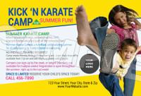 Kick 'N Karate Camp V3