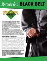 *NEW!! PMA Journey to a Black Belt