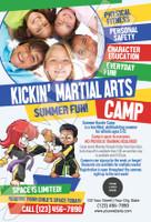 *NEW!! Kickin' Martial Arts Camp