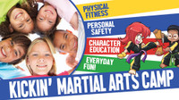 *NEW!! Kickin' Martial Arts/Karate Camp Vinyl Banner V4