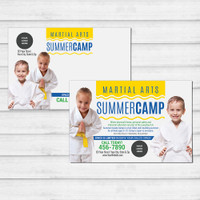 *NEW!! Martial Arts Summer Camp Wavy V1