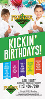 NEW!! Premier Birthday V1 Rack Cards