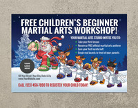 *NEW!! Children's Beginner Martial Arts Workshop | Santa Style